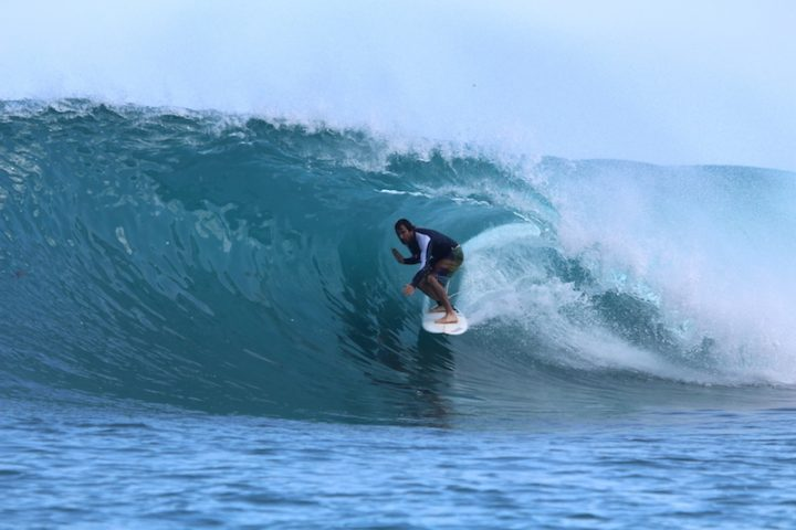 wave guide, ranga's, Telo Islands, surfing, Sumatra, Indonesia