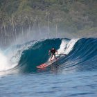 SUP, stand up paddle board, telo islands, telo surf, SUP resort, rlz, latitude zero, surf resort