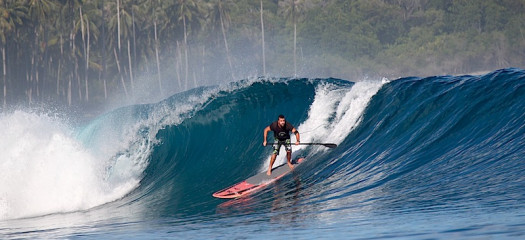 SUP, stand up paddle board, telo islands, telo surf, SUP resort, rlz, latitude zero, surf resort