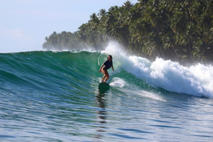 wave guide, resort latitude zero, monkeys, surfing, Telo Islands, Sumatra