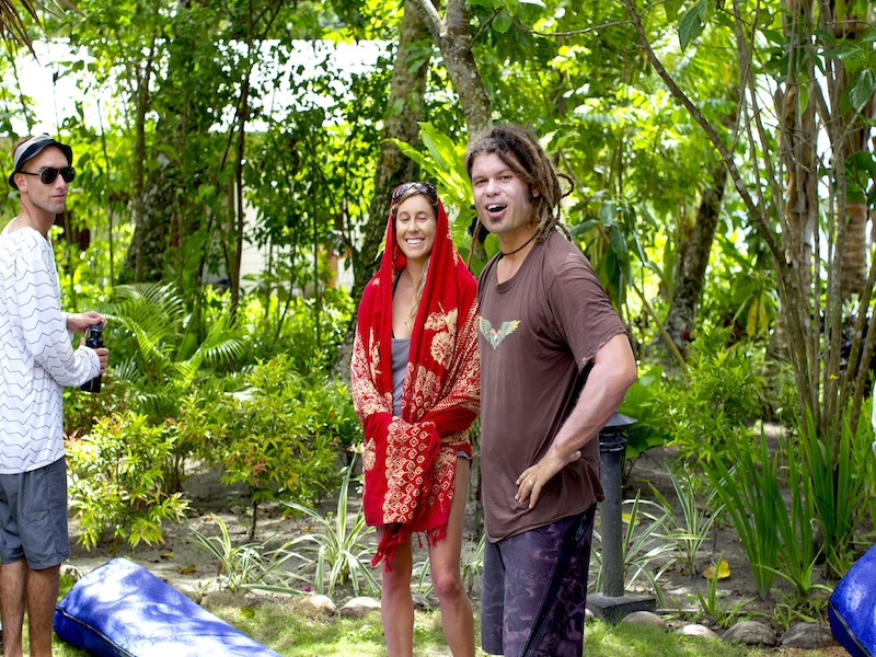ash grunwald, resort latitude zero, rlz, telo islands surf resort