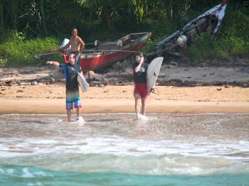 rlz surf report, resort latitude zero, latitude zero, telo islands, telo resort, mangalui