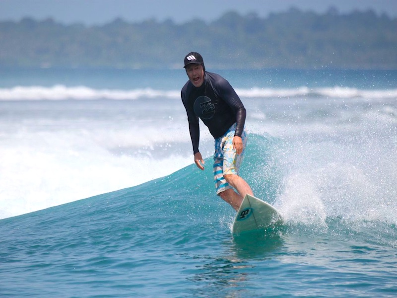 resort latitude zero guests, indonesian perfection, sumatra, resort latitude zero, surf report