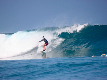 resort latitude zero, surf report, telo islands, rlz, indonesia, mangalui, surf trip, nomad