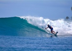 telo islands, rlz, resort latitude zero surf report, sumatra surf report