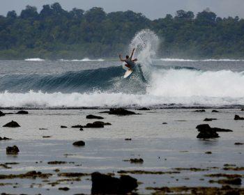 rlz, matt banting, quiksilver team, monster energy, shapers fins team, Oakley eyewear, resort latitude zero, telo islands surf camp