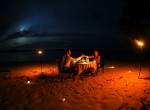 rlz, beach dining, Indonesian resort, honeymoon location Indonesia