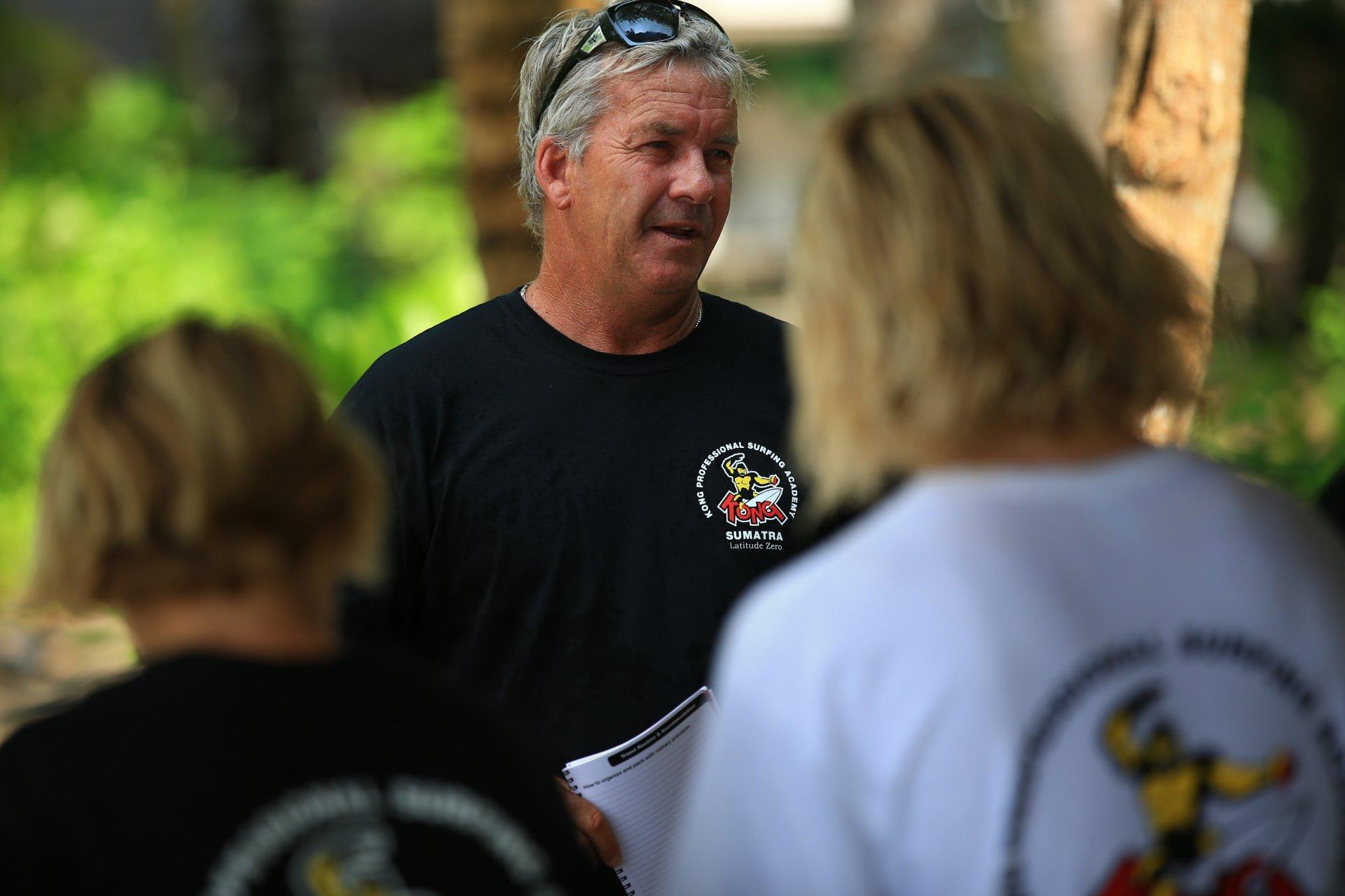 kong, Gary Elkerton, resort latitude zero, Telo Islands, Sumatra, Indonesia, Training Camp