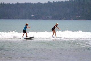 wave guide, beginner wave, Sumatra, surfing resort, Indonesia, resort latitude zero, latitude zero