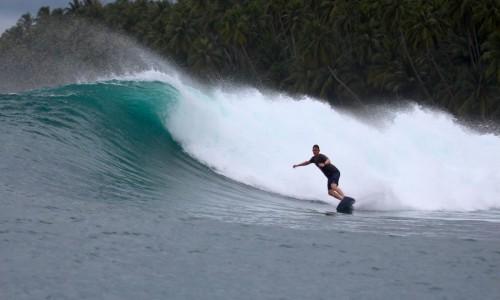 resort latitude zero, rlz, surf report, Telo Islands, Mangalui, Nomad, Indonesia surfing