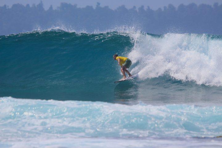 Surf Report, resort latitude zero, Telo Islands, Sumatra, Indonesia, muzzaswell, resort