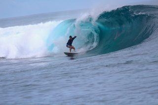 resort latitude zero, surfing, Telo Islands, Sumatra, Indonesia