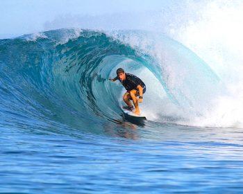 Resort, surfing, resort latitude zero, Telo Islands, Sumatra, Indonesia, family friendly