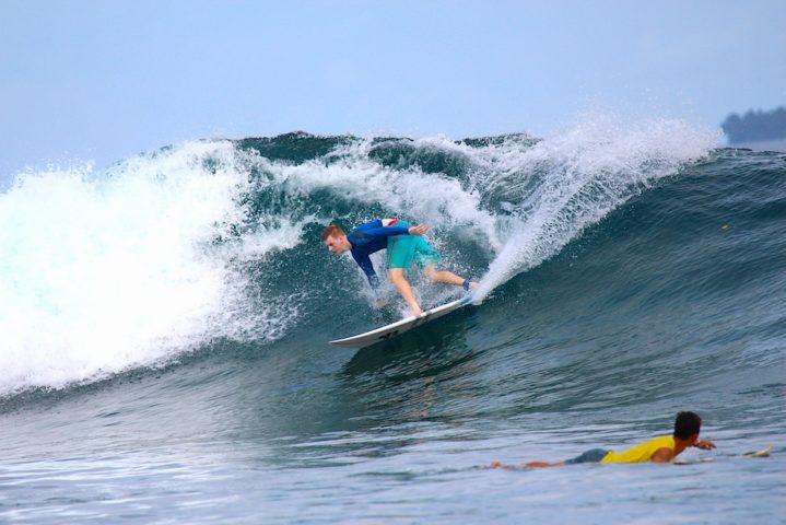 Latitude, Telo Islands, surfing, surf report, resort latitude zero, Sumatra, family friendly