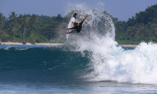 Soli Bailey, resort latitude zero, Telo Islands, Sumatra