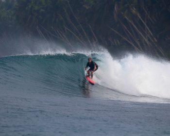 surfing, resort latitude zero, Sumatra, Indonesia, tropical, holiday
