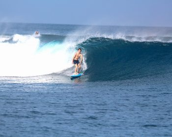 surfing, resort latitude zero, Telo Islands, Indonesia, waves, tropical, holiday