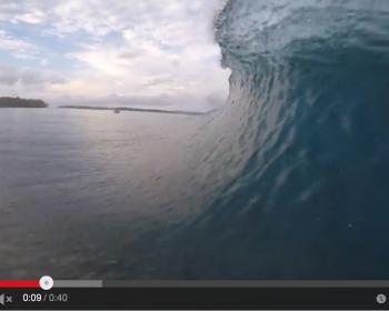GoPro, surfing, video, clip, mangalui, resort latitude zero, Sumatra