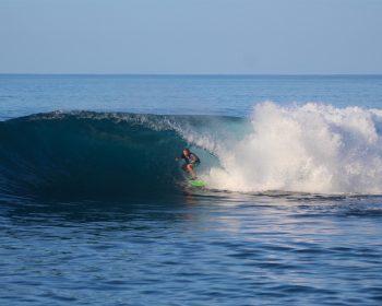 resort latitude zero, surfing, Sumatra, Indonesia, summer season, holiday, family, Telo Islands