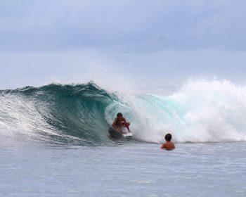 surfing, resort latitude zero, Telo Islands, Sumatra
