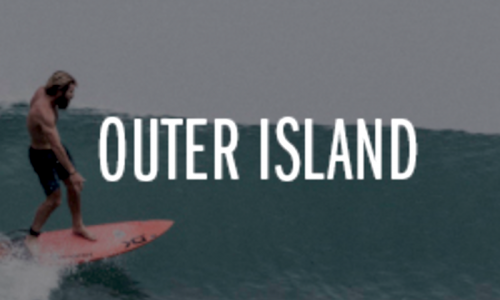 Outer Island, surfboards, tracks magazine, resort latitude zero, Nomad, yacht, Indonesia