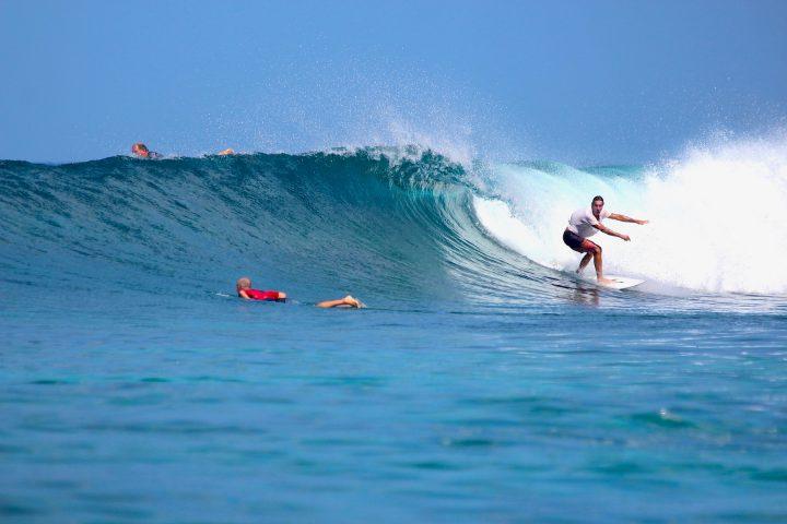 resort latitude zero, surfing, Indonesia, Sumatra, tropical, family friendly, Telo Islands, fishing