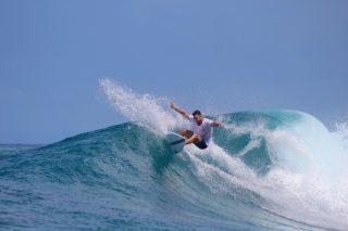 resort latitude zero, surfing, Indonesia, tropical, island, Telo Islands, Sumatra