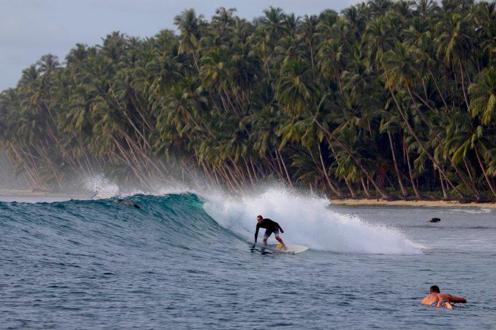 surfing, Telo Islands, Indonesia, resort latitude zero, report
