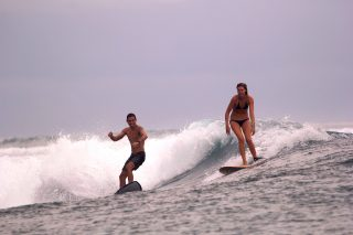 resort latitude zero, surfing, holiday, Telo Islands, Sumatra, Indonesia, tropical, resort