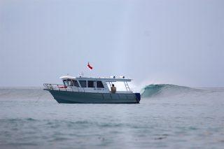 resort latitude zero, surfing, Telo Islands, tropical, Indonesia, swell, pumping, equator