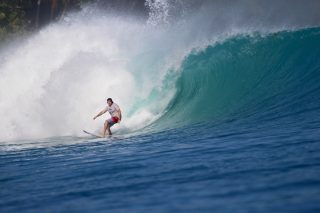 resort latitude zero, Indonesia, surfing, tropical, family, waves, equator