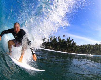 resort latitude zero, Indonesia, Sumatra, surfing, tropical, holiday