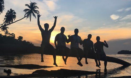 surfing, holiday, island, surf stitch