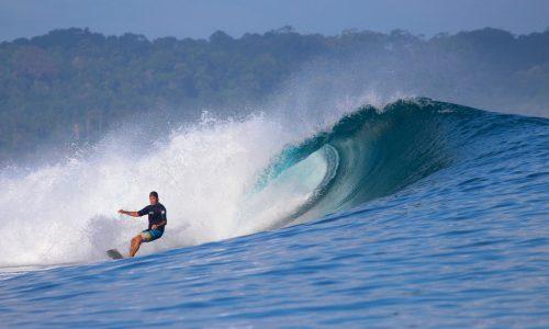 resort latitude zero, surfing, telo islands, Indonesia, Sumatra, tropical