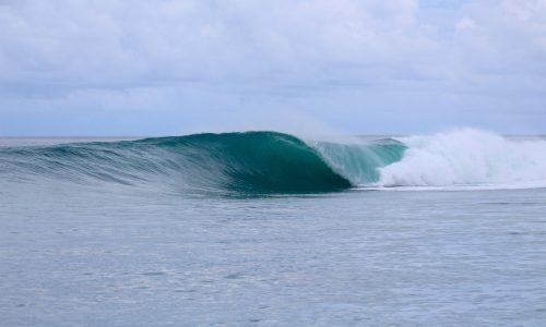 surfing, holiday, resort latitude zero, Telo Island, Sumatra, Indonesia