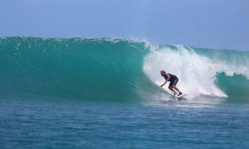 resort latitude zero, surfing, Telo Island, Sumatra, Indonesia, holiday, accommodation, adventure, fishing