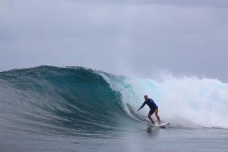 resort latitude zero, surfing, Indonesia, Telo Islands, bungalow, fishing, family holiday, equator, natural, report
