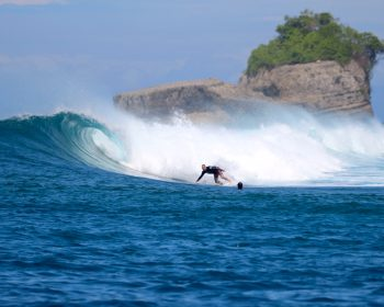 resort latitude zero, surfing, Telo Islands, Sumatra, Indonesia, tropical, holiday, equator, family