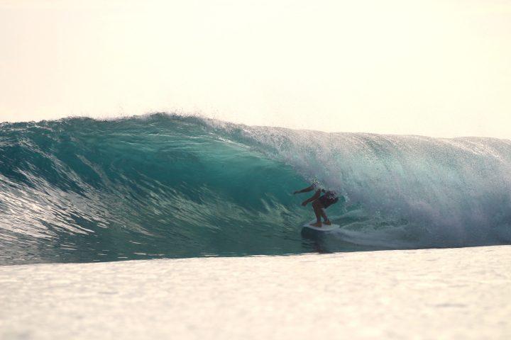 resort latitude zero, surfing, Indonesia, sequence, photo, Telo Islands, stoke, tube
